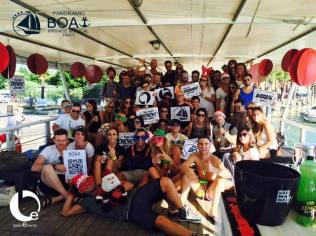 Panoramic Boat Privat Party 2015, Brain Events